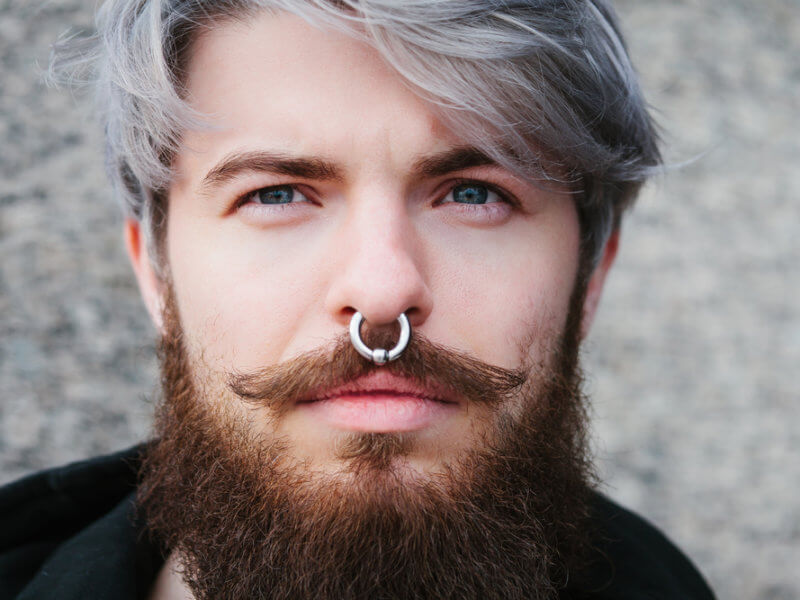Pierced means gay ear re which you What side